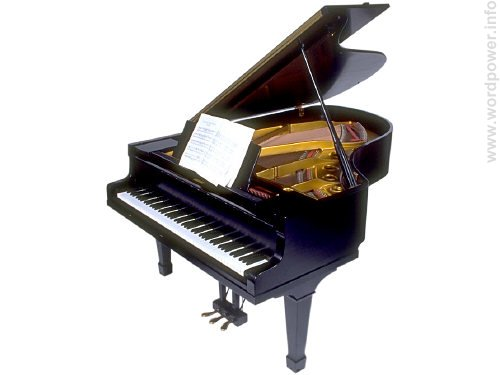 A photo quality image of a piano