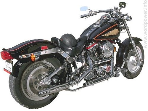 A photo quality image of a harley davidson motorcycle