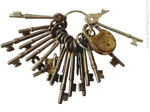 A photo quality image of keys