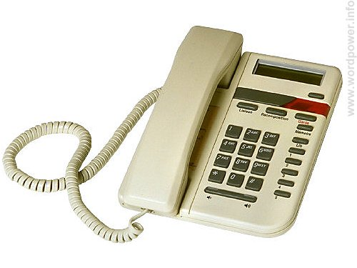 A photo quality image of a telephone.