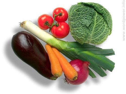 A photo quality image of vegetables.